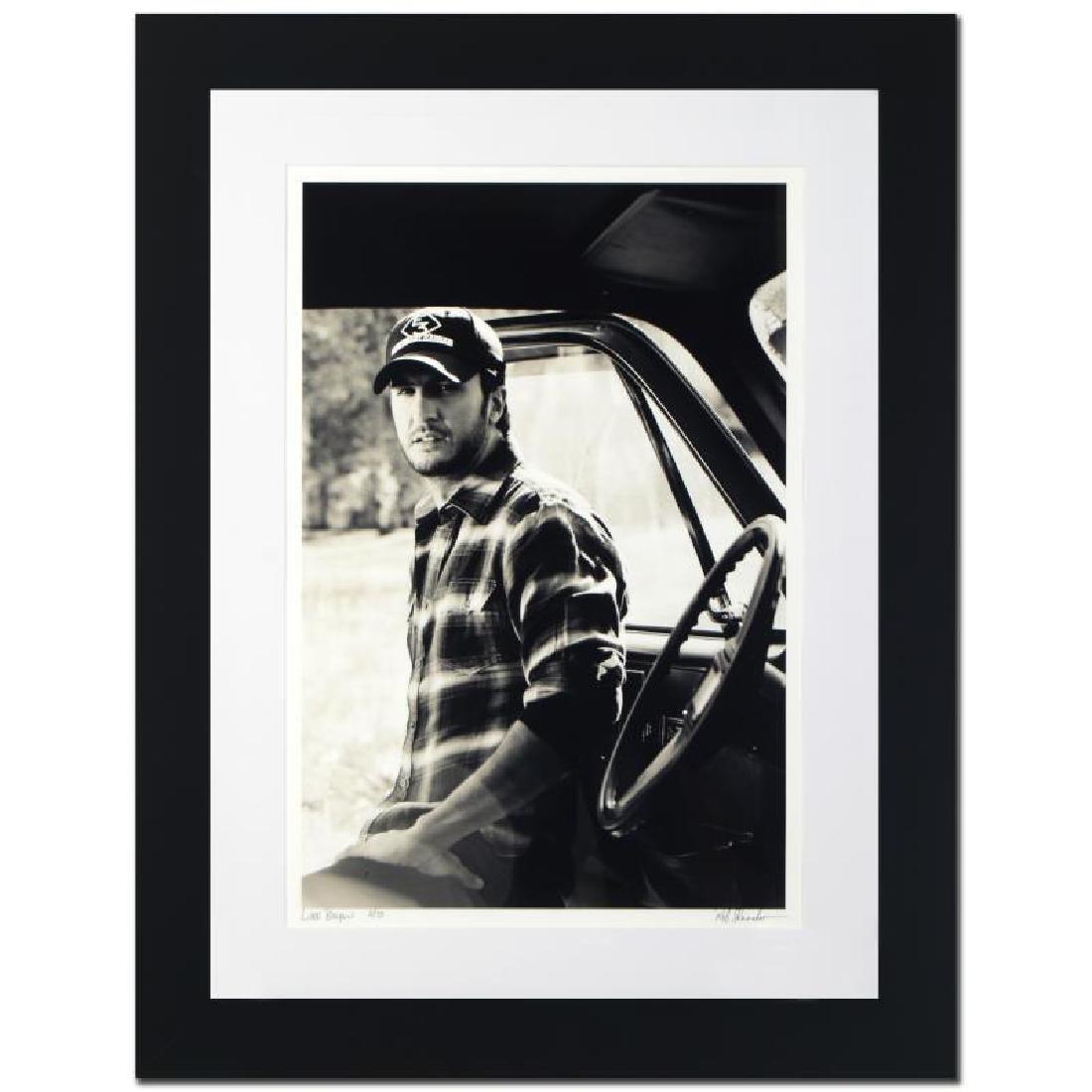 """Luke Bryan"" Limited Edition Giclee by Rob Shanahan - 3"