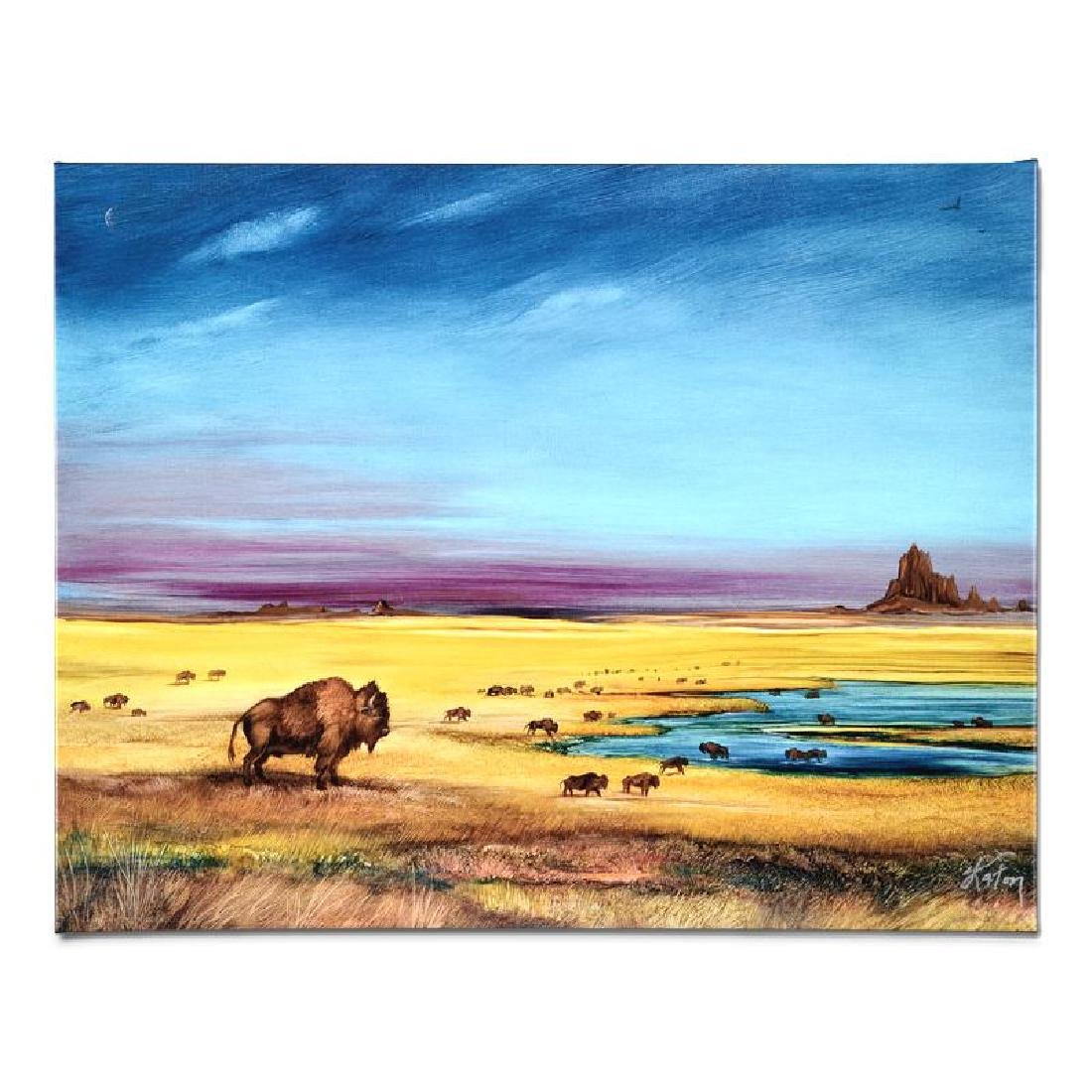 """""""Where the Buffalo..."""" Limited Edition Giclee on - 2"""