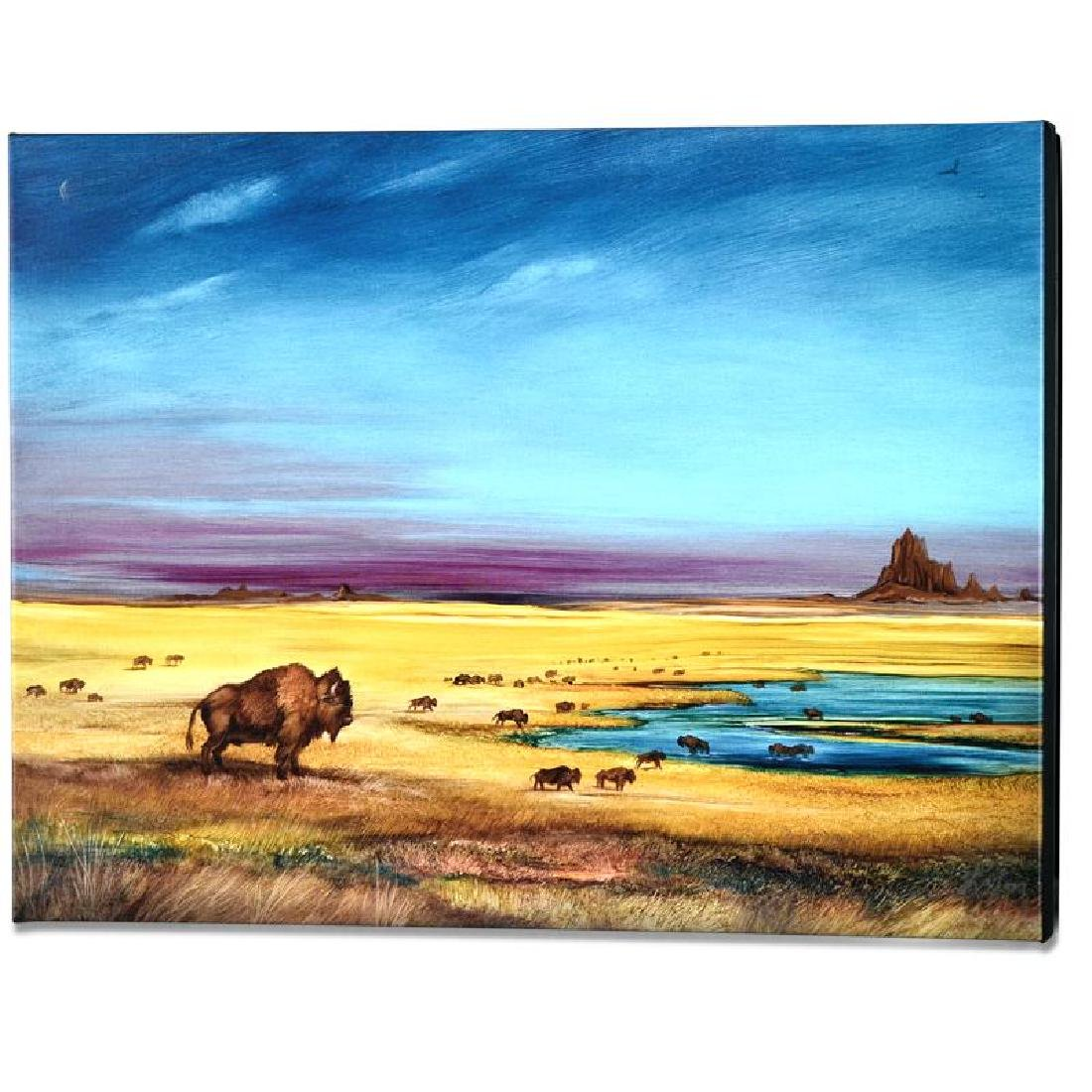"""""""Where the Buffalo..."""" Limited Edition Giclee on - 4"""