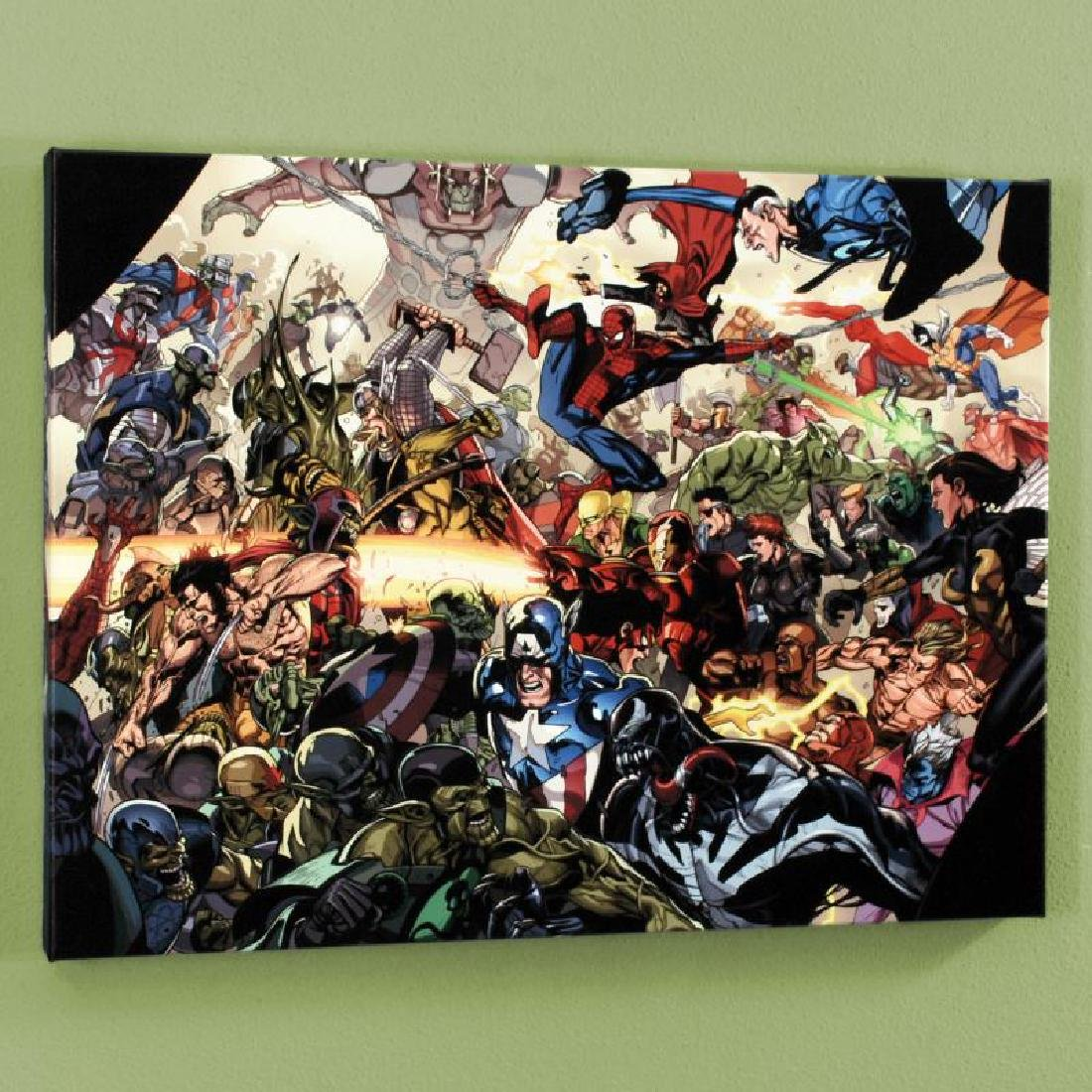 """Secret Invasion #6"" Limited Edition Giclee on Canvas"