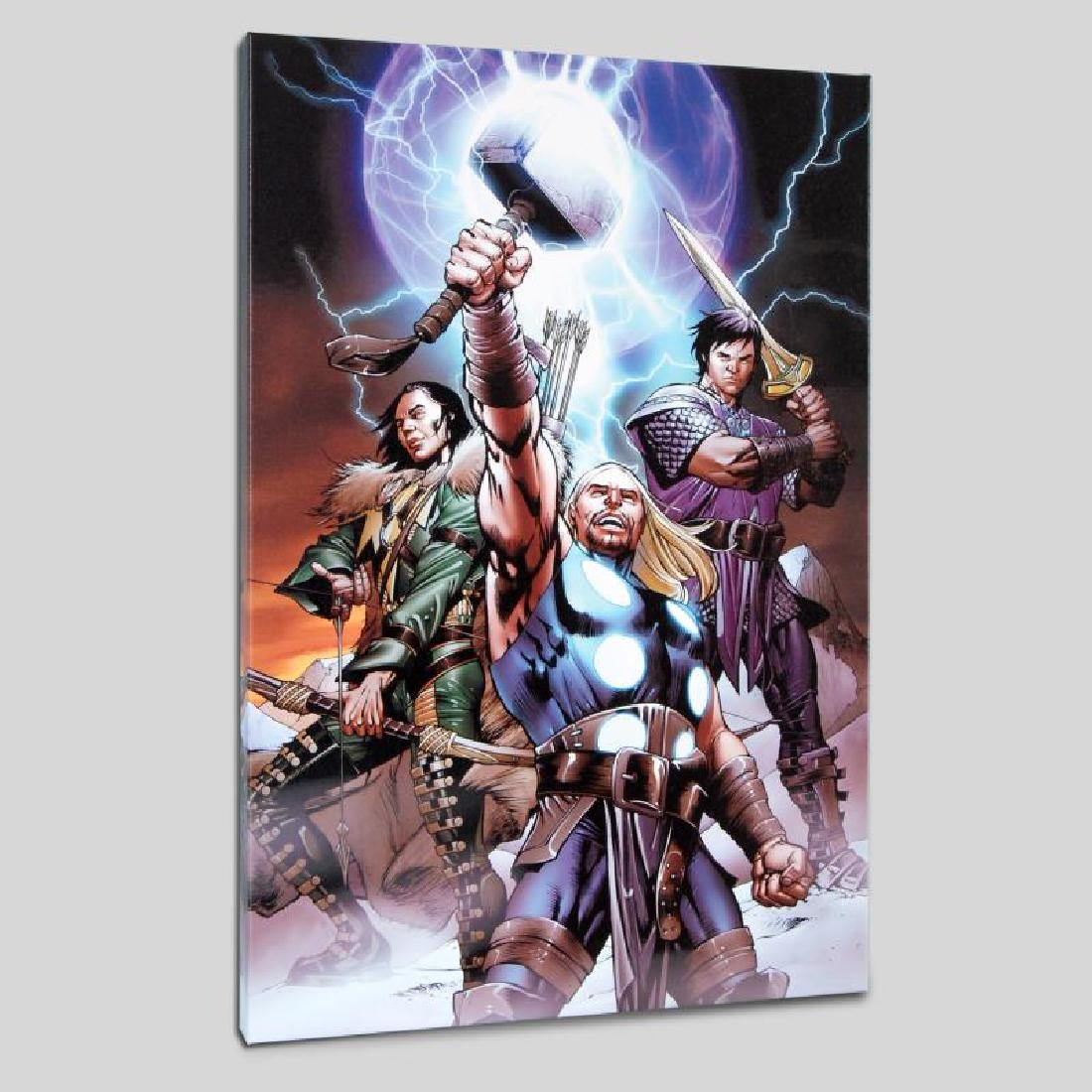 """Ultimate Thor #3"" LIMITED EDITION Giclee on Canvas by"