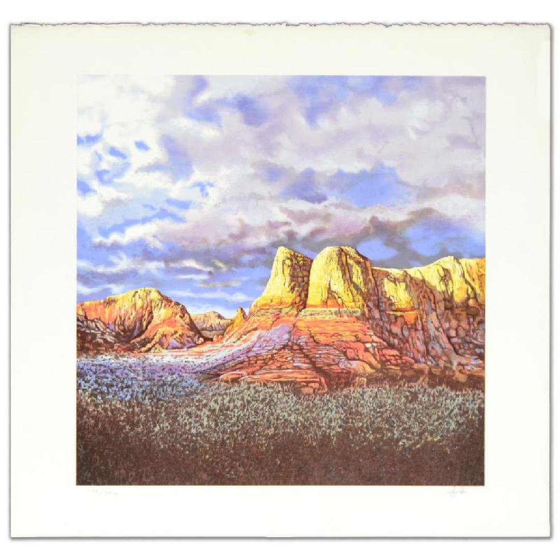 """""""Oak Creek Sunset"""" Limited Edition Lithograph by Jorge"""