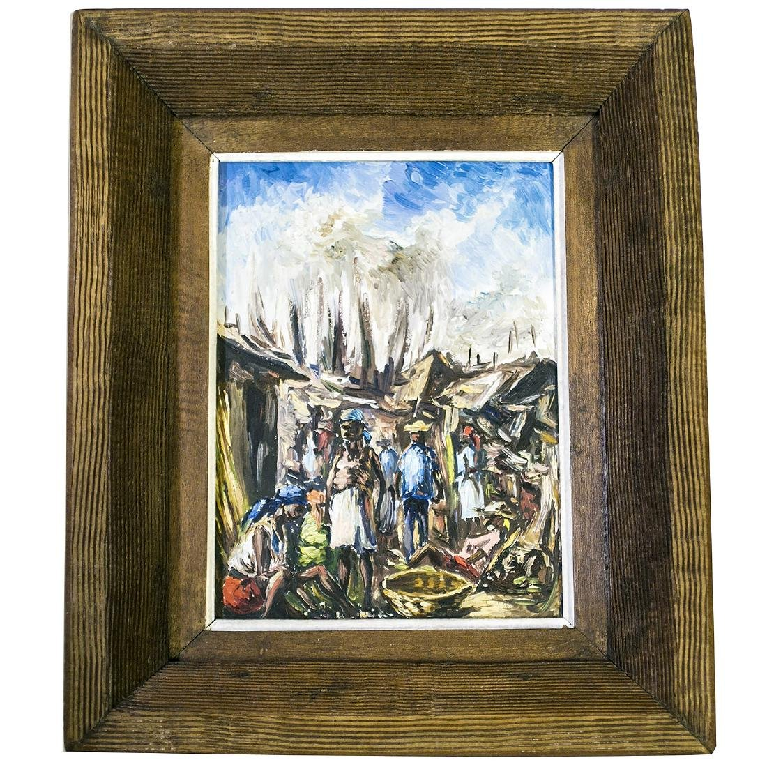Haitian Impressionist Master Artist Ernest Louizor Oil - 3