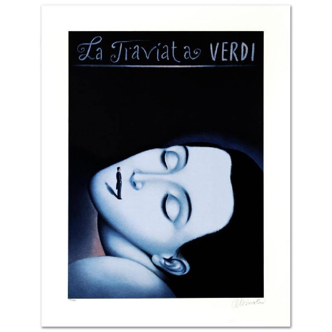 """La Traviata I"" Limited Edition Lithograph by Rafal"