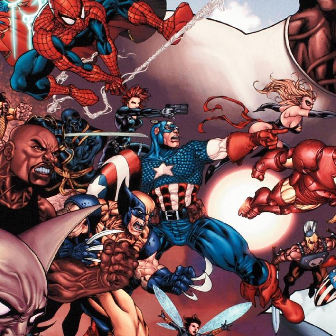 """""""What If? Civil War #1"""" Limited Edition Giclee on - 5"""