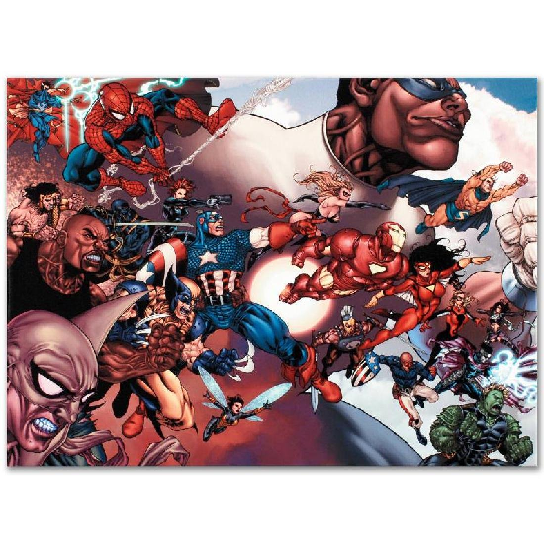 """What If? Civil War #1"" Limited Edition Giclee on - 6"