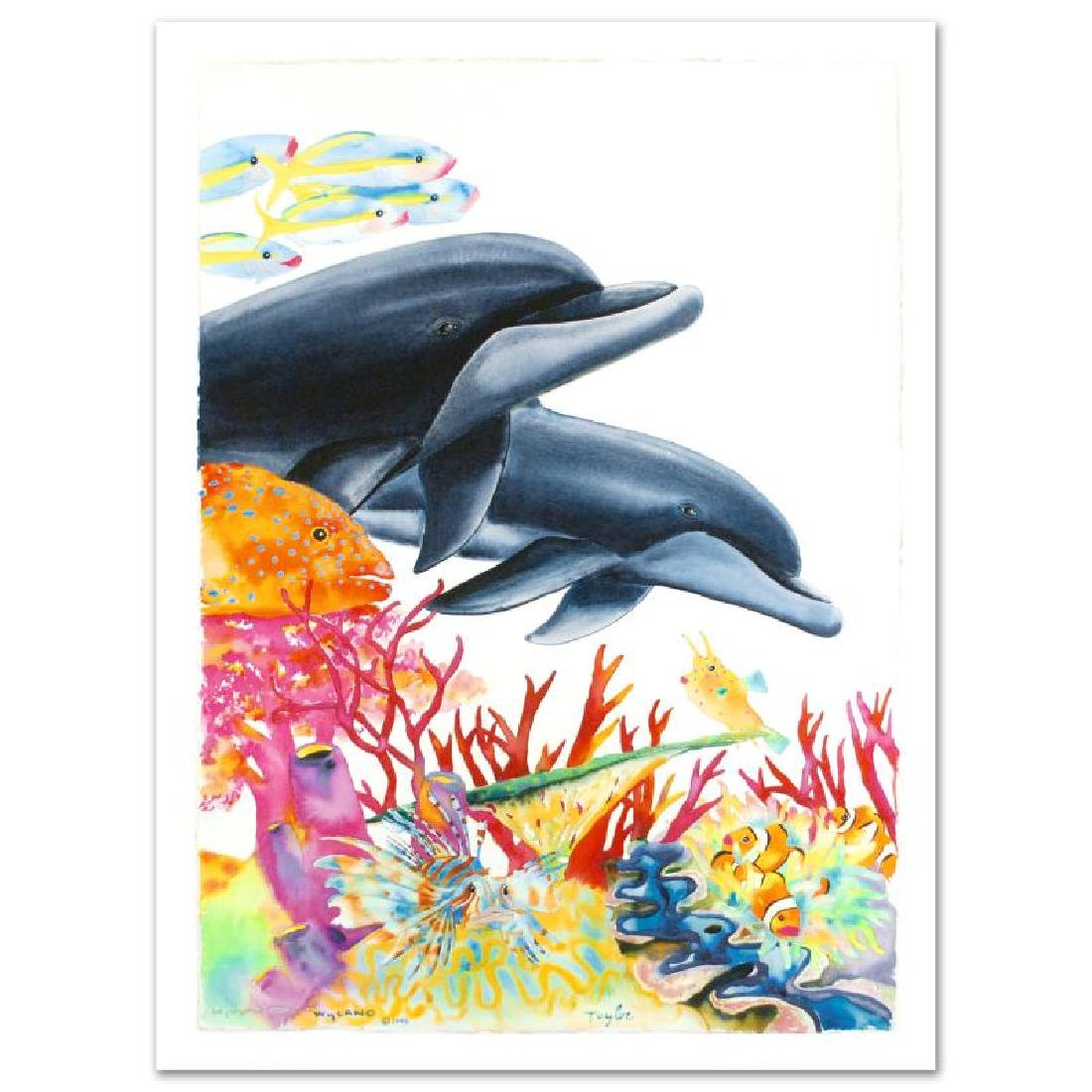 """""""Sea of Color"""" Limited Edition Giclee on Canvas (29.5"""""""