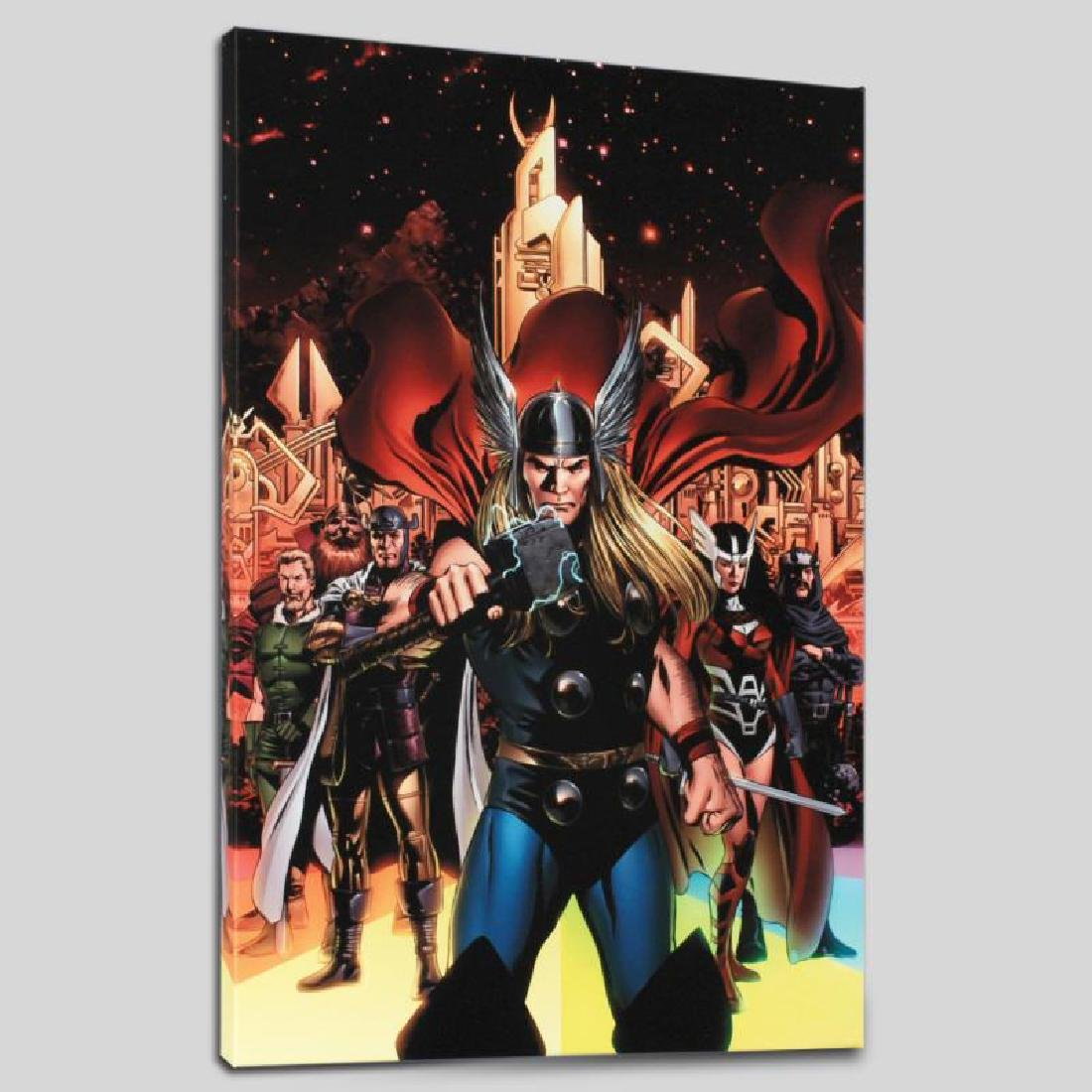 """Thor #82"" Limited Edition Giclee on Canvas by Steve"