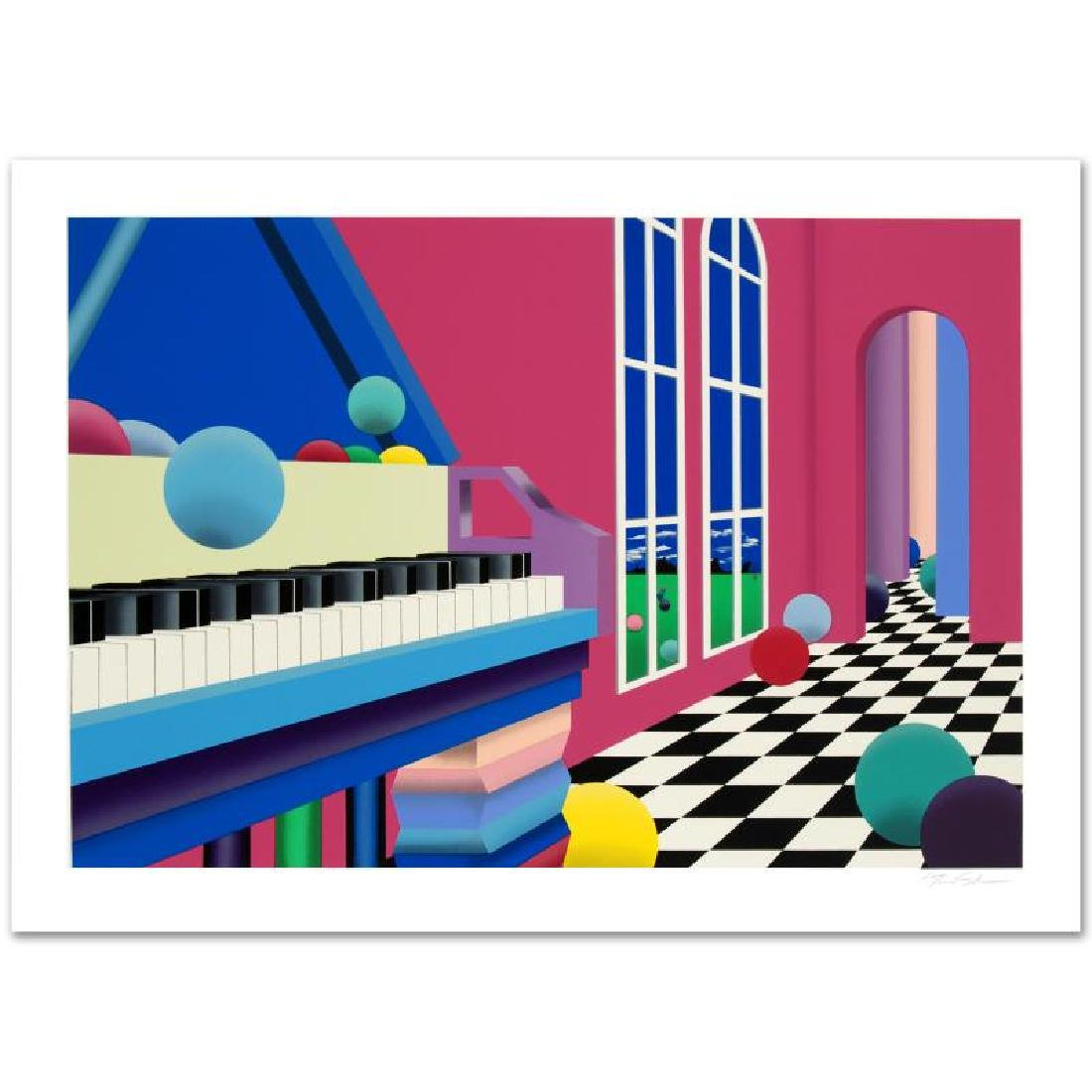 """Grand Ballroom"" Limited Edition Serigraph (35"" x - 3"