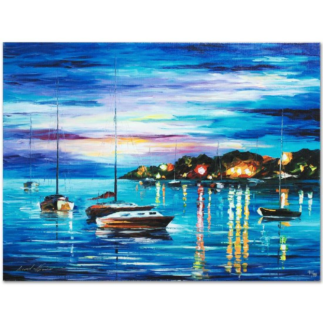Out All Night LIMITED EDITION Giclee on Canvas by - 4