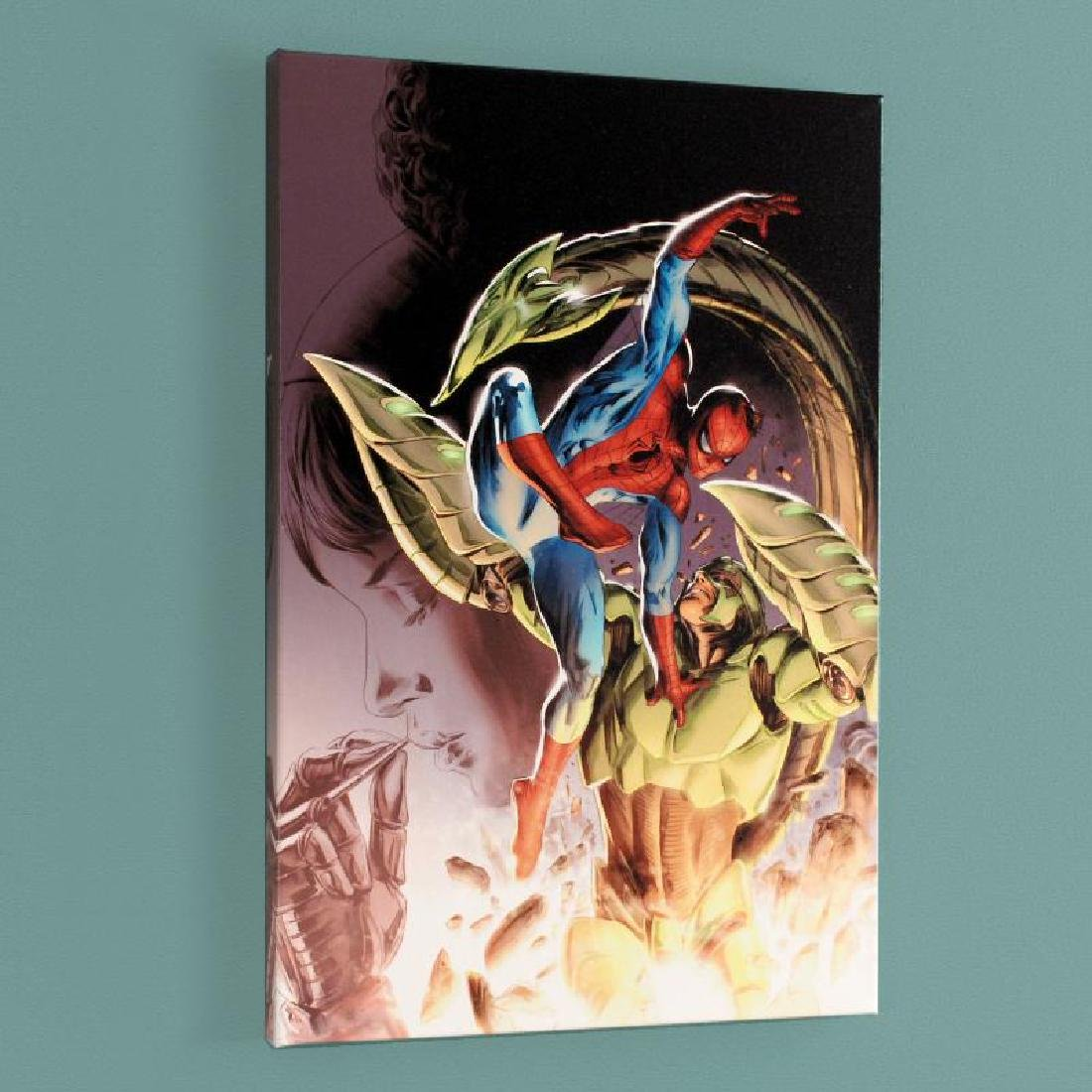 """Heroes For Hire #8"" Limited Edition Giclee on Canvas"