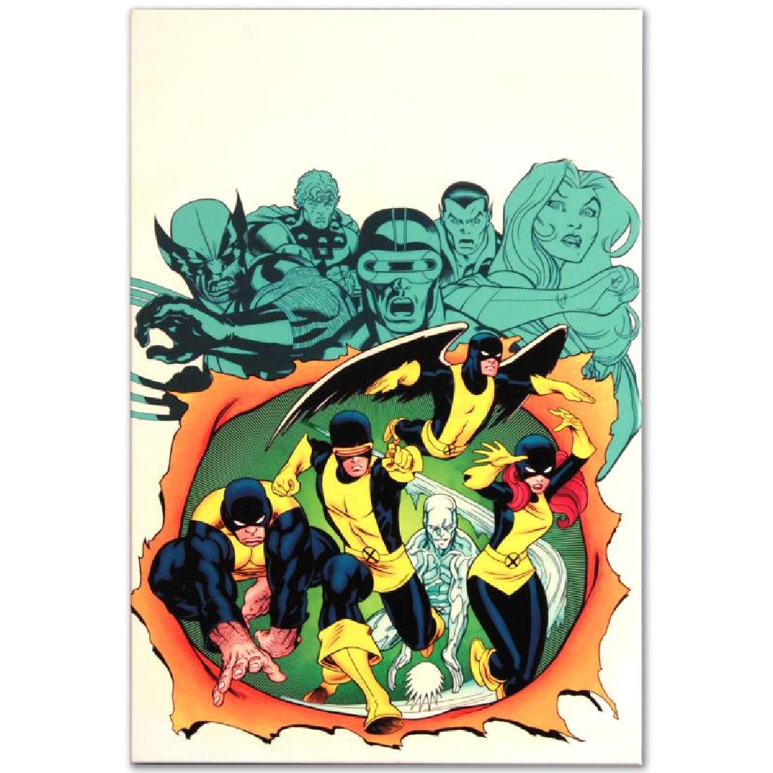 """""""X-Men Giant-Size #1"""" Limited Edition Giclee on Canvas - 4"""
