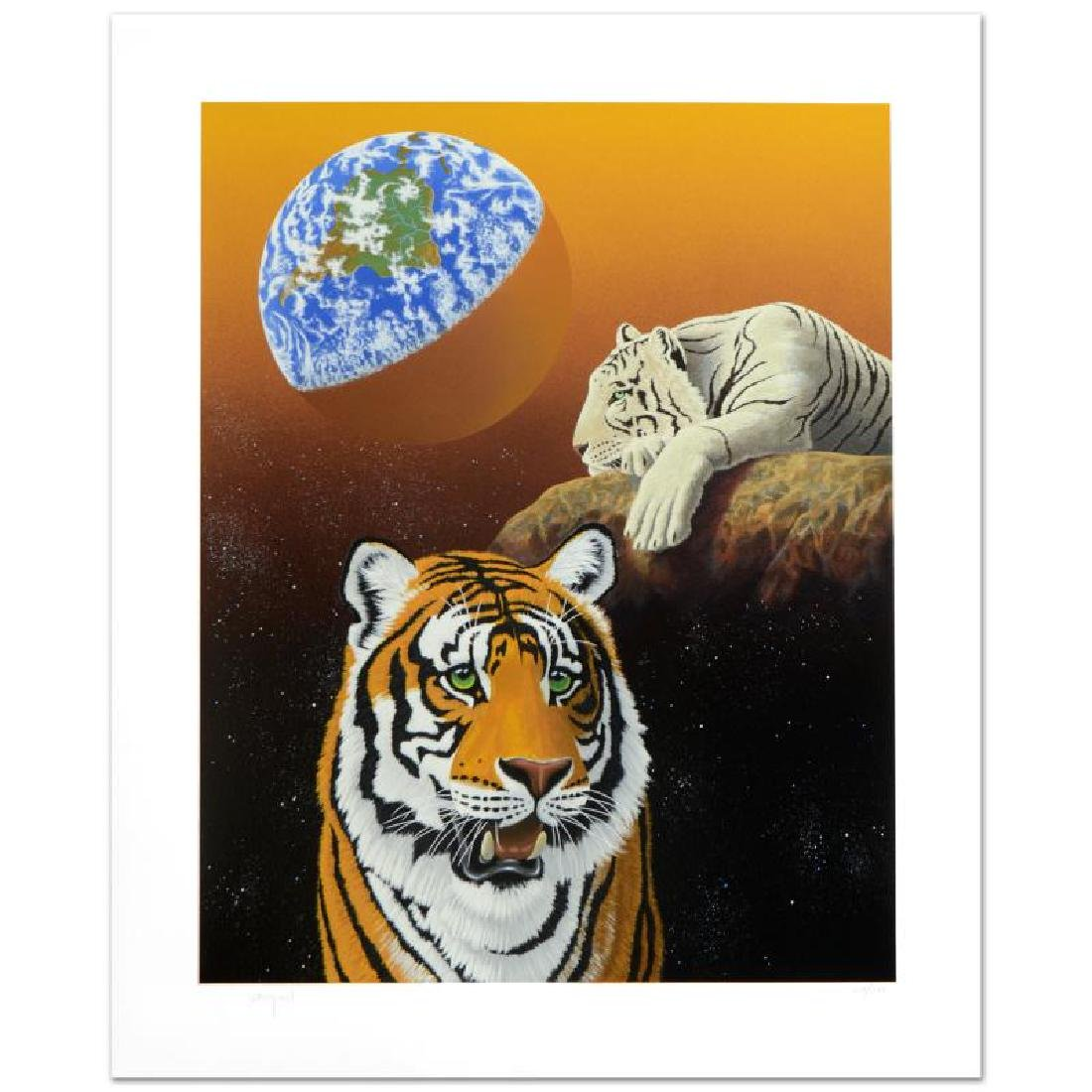 """Our Home Too III (Tigers)"" Limited Edition Serigraph"