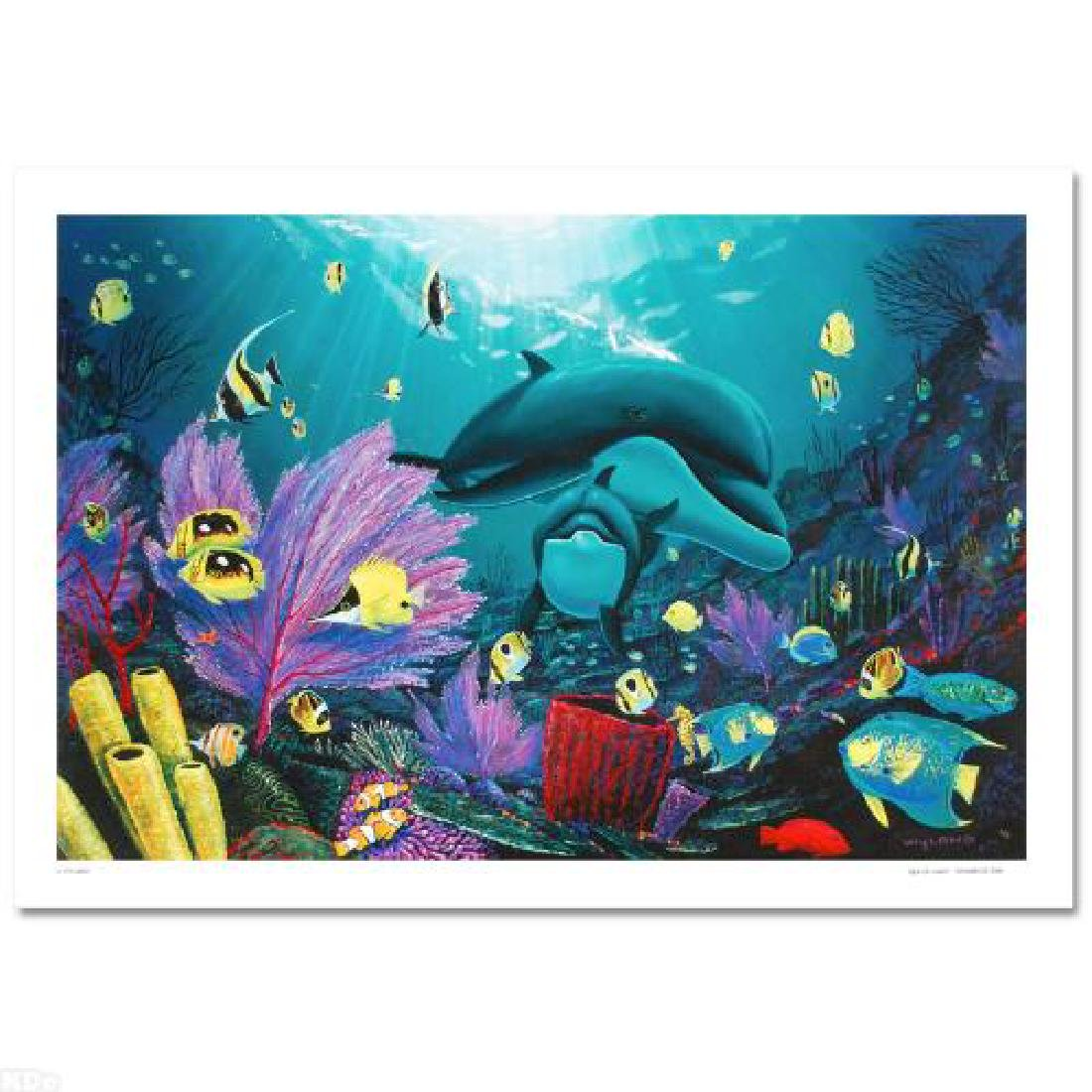 """""""Sea of Light"""" LIMITED EDITION Giclee on Canvas (36"""" x - 3"""