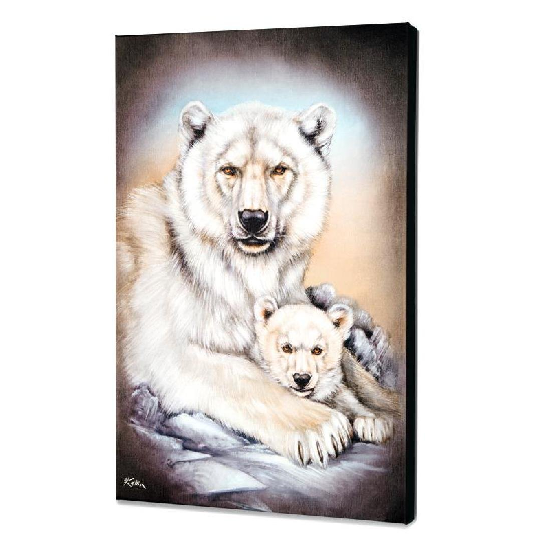 """Polar Bears"" Limited Edition Giclee on Canvas by"