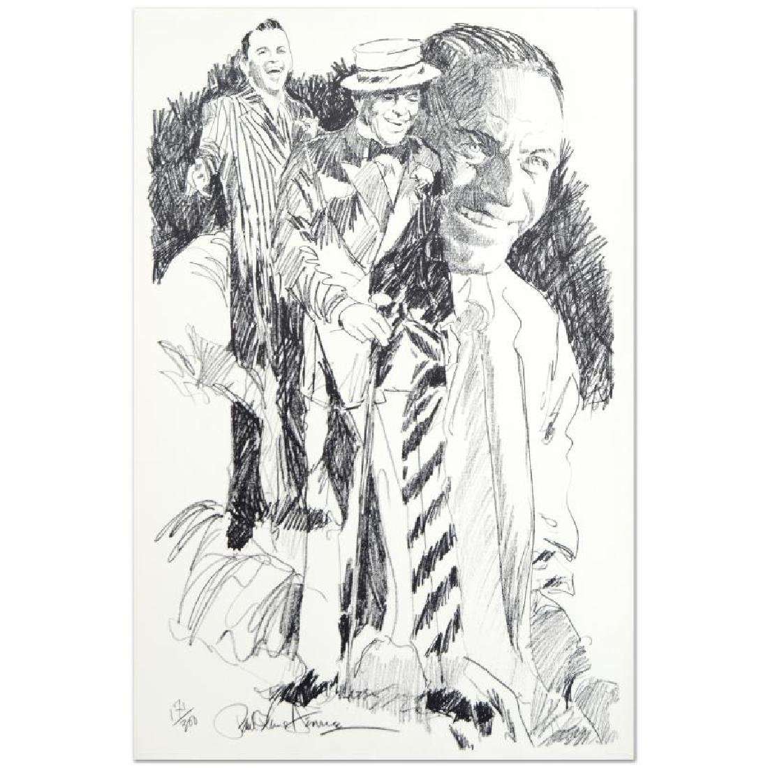 Sinatra Limited Edition Serigraph by Paul Blaine Henrie