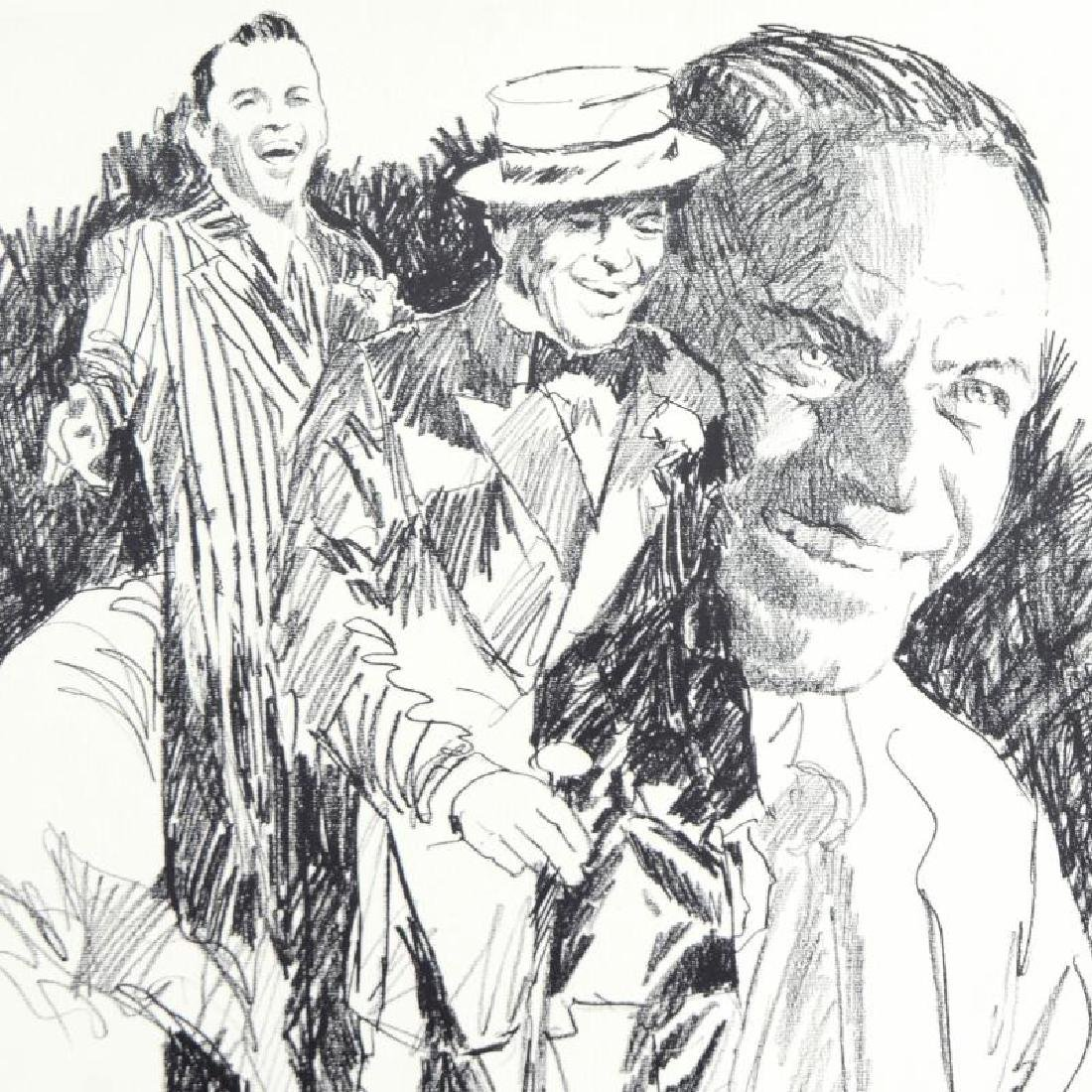 Sinatra Limited Edition Serigraph by Paul Blaine Henrie - 4