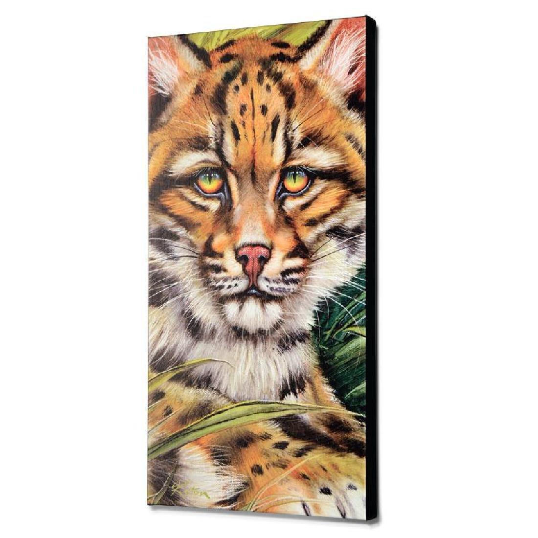 """""""Ocelot Eyes"""" Limited Edition Giclee on Canvas by - 4"""
