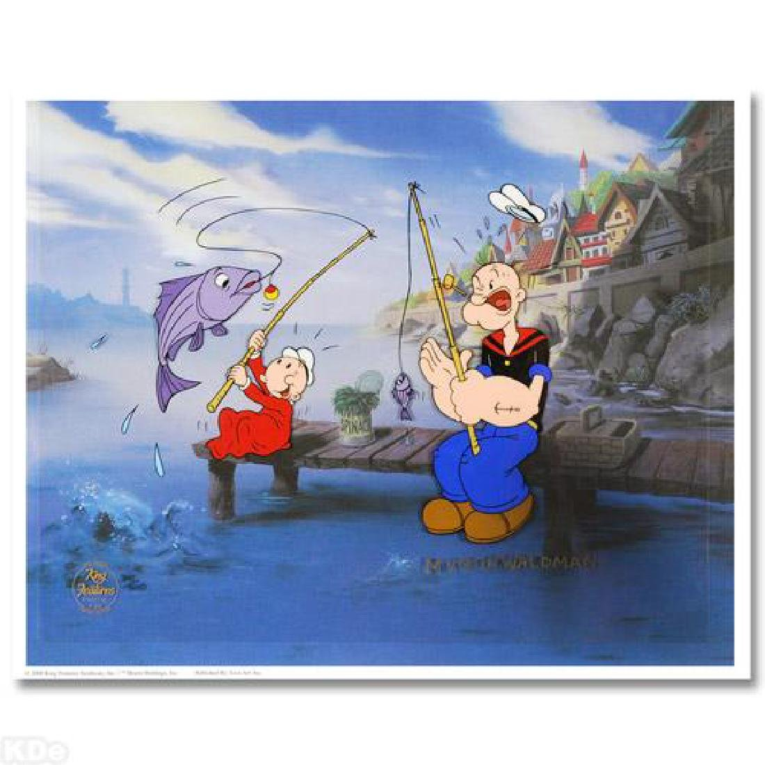 The Big One Limited Edition Hand Painted Animation Cel!