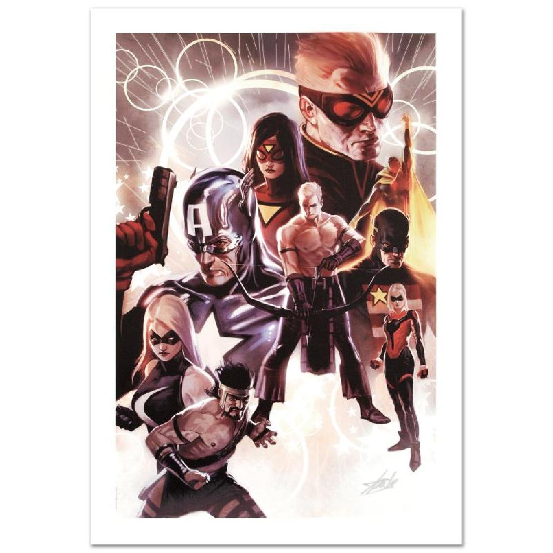 """The Mighty Avengers #30"" Limited Edition Giclee on - 3"