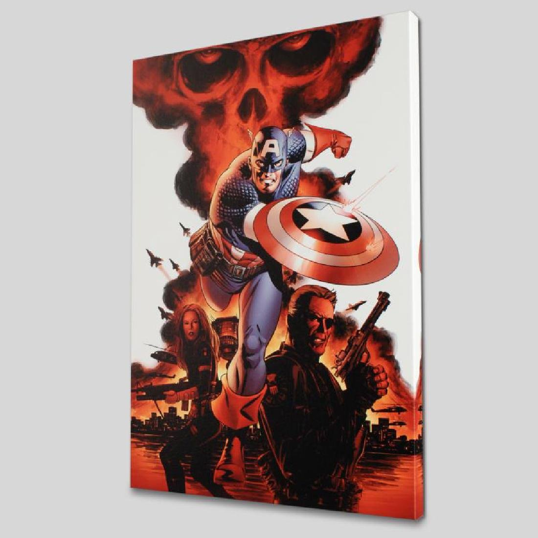 """""""Captain America #1"""" LIMITED EDITION Giclee on Canvas"""