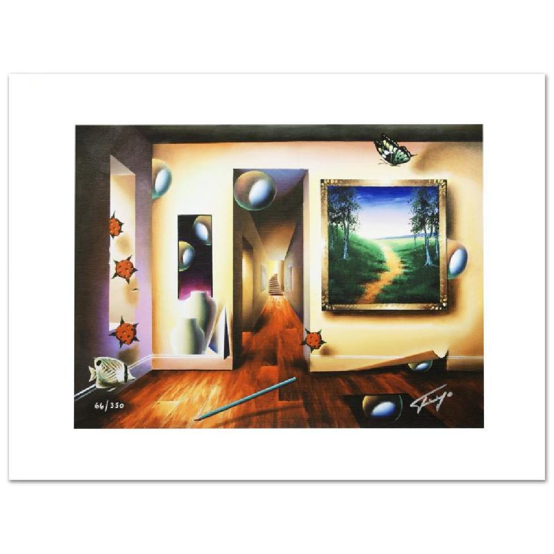 """Dreamlike Corridor"" Limited Edition Giclee on Canvas - 3"