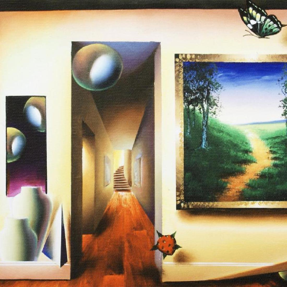 """Dreamlike Corridor"" Limited Edition Giclee on Canvas - 4"