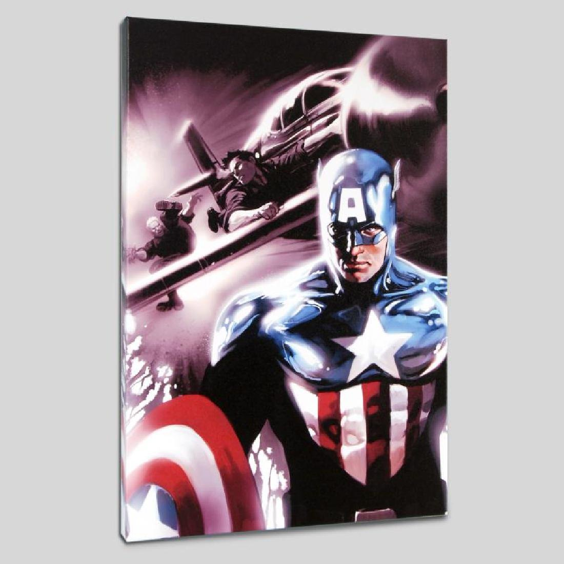 """Captain America #609"" LIMITED EDITION Giclee on Canvas"
