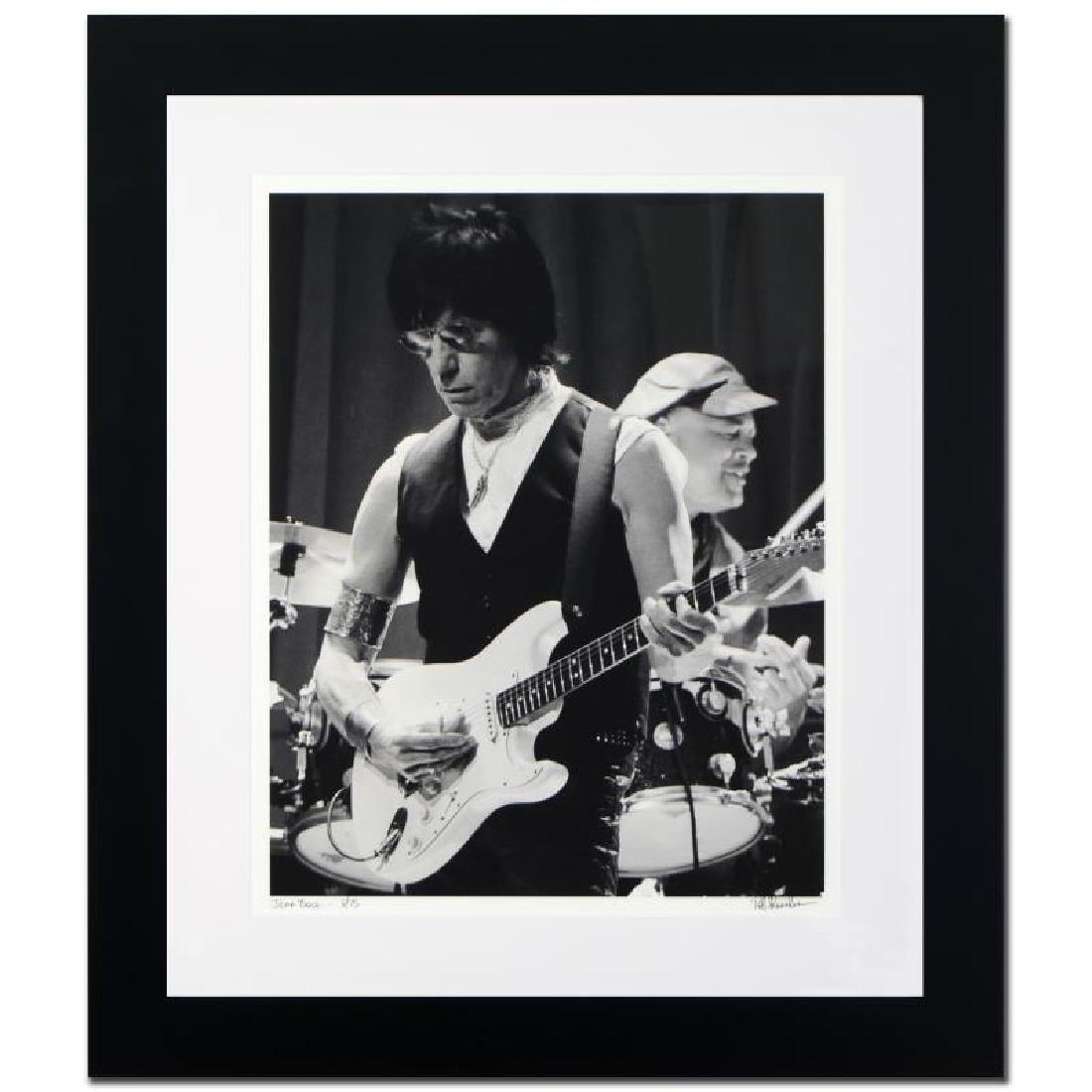 Jeff Beck Limited Edition Giclee by Rob Shanahan