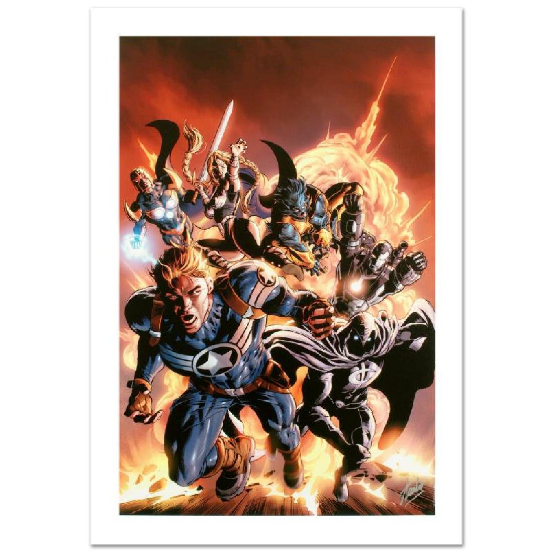 """Secret Avengers #2"" Limited Edition Giclee on Canvas"