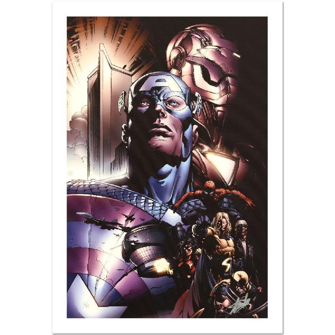 """New Avengers #6"" Limited Edition Giclee on Canvas by"