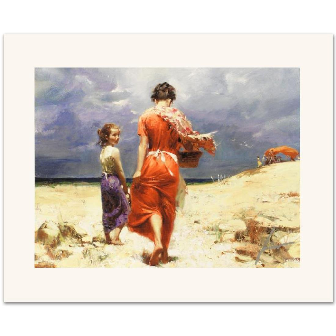 Summer Retreat Limited Edition Giclee on Canvas by Pino - 3