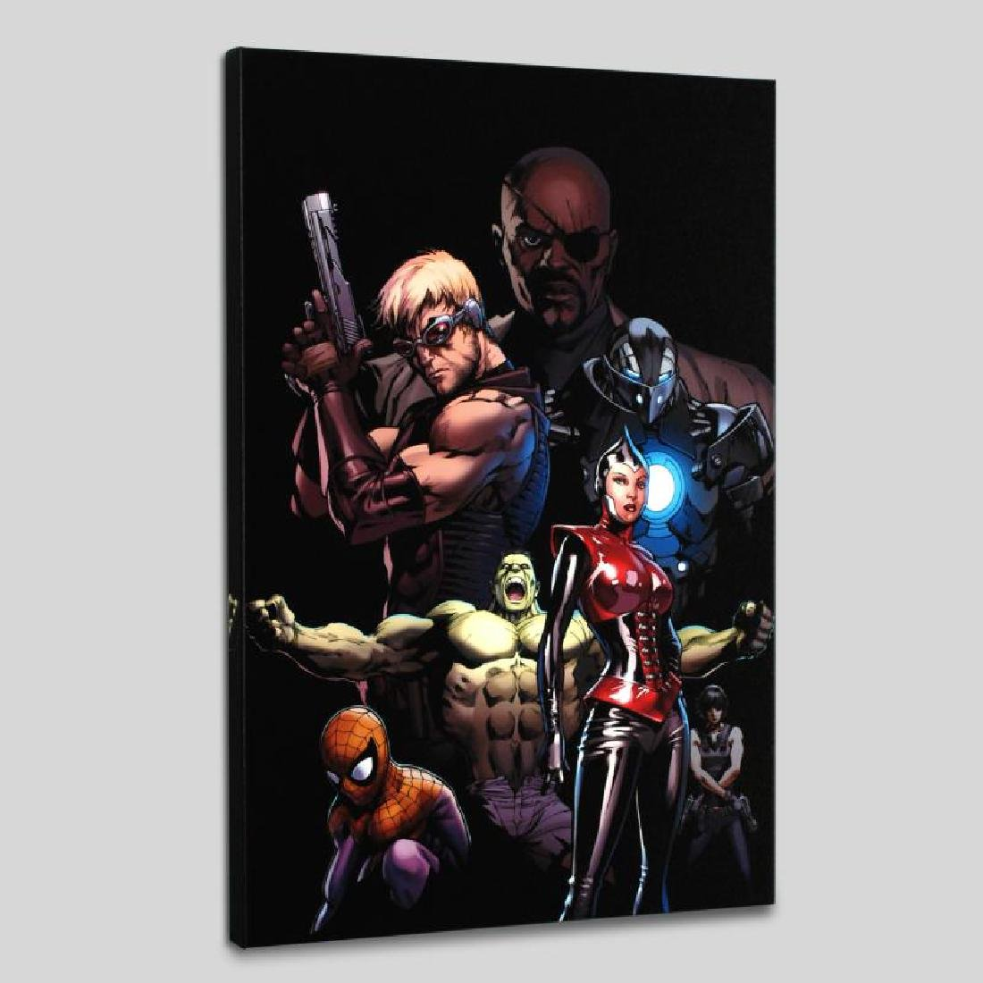 """Ultimate Avengers #3"" LIMITED EDITION Giclee on Canvas"