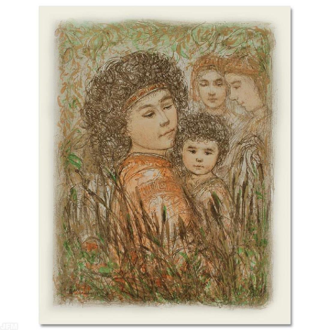 """""""Pharaoh's Daughter with Moses in Bulrushes"""" Limited - 3"""