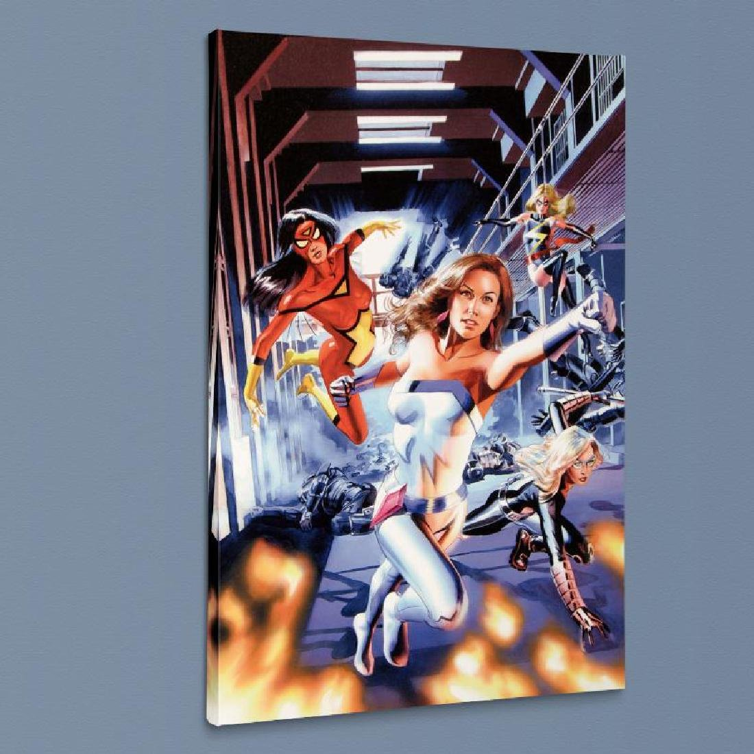 """""""New Avengers Annual #3"""" LIMITED EDITION Giclee on - 4"""
