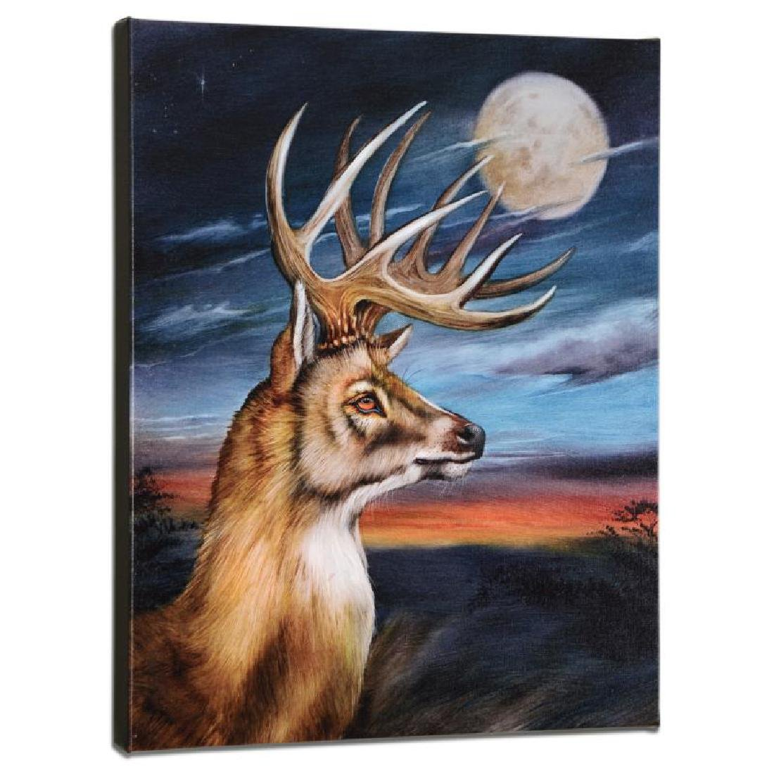 White Tail Moon Limited Edition Giclee on Gallery