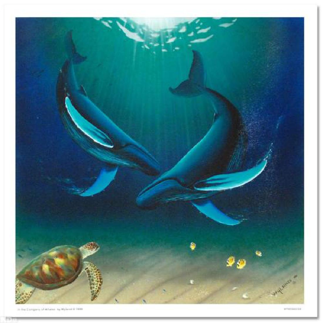 In the Company of Whales LIMITED EDITION Giclee on
