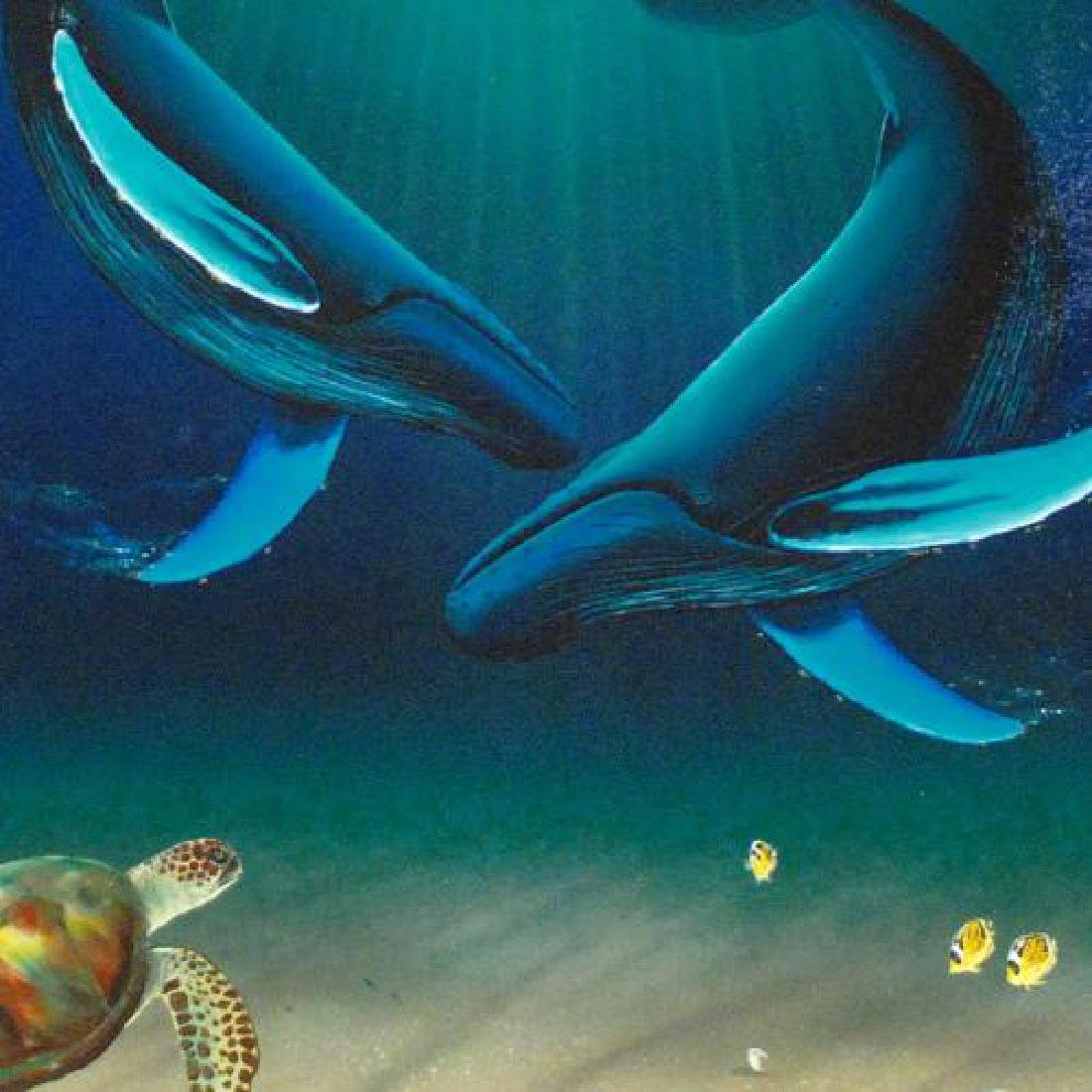 In the Company of Whales LIMITED EDITION Giclee on - 2