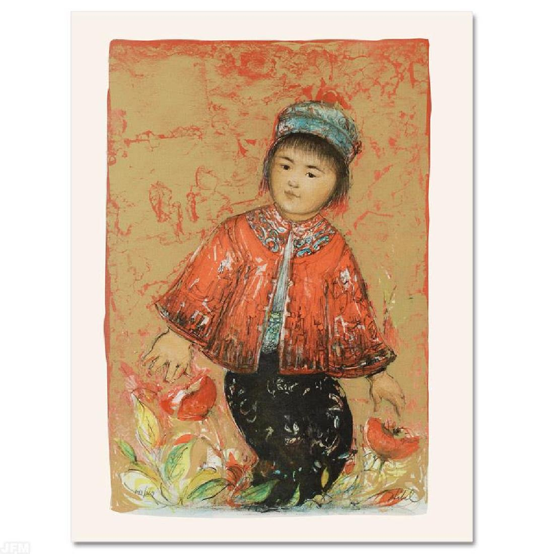 """""""New Red Jacket"""" Limited Edition Lithograph by Edna"""