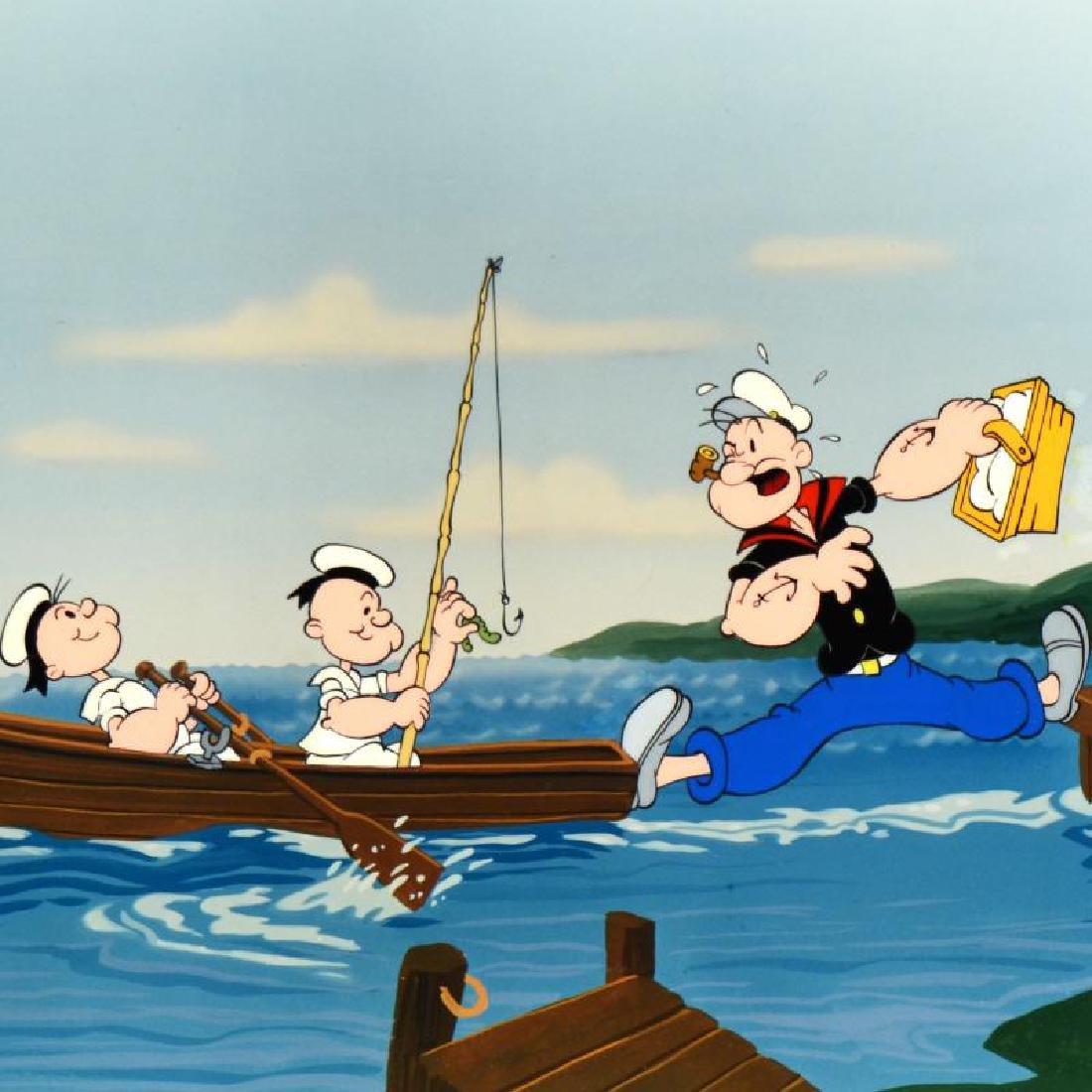 "Myron Waldman (1908-2006)! ""Gone Fishing"" Limited - 4"