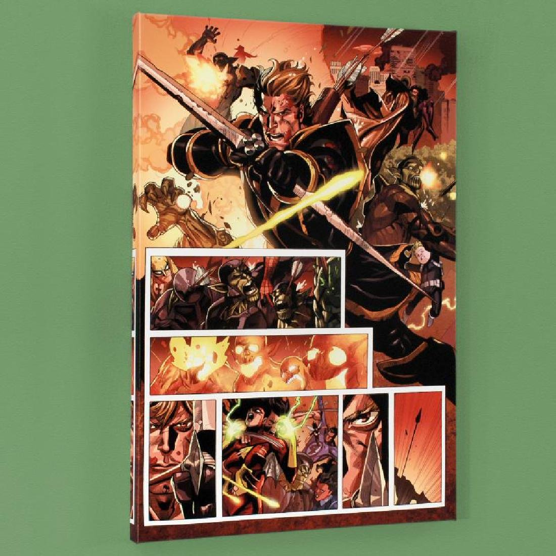 Secret Invasion #7 Limited Edition Giclee on Canvas by