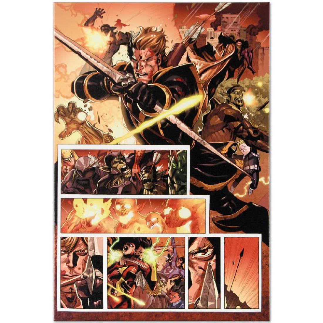 Secret Invasion #7 Limited Edition Giclee on Canvas by - 4