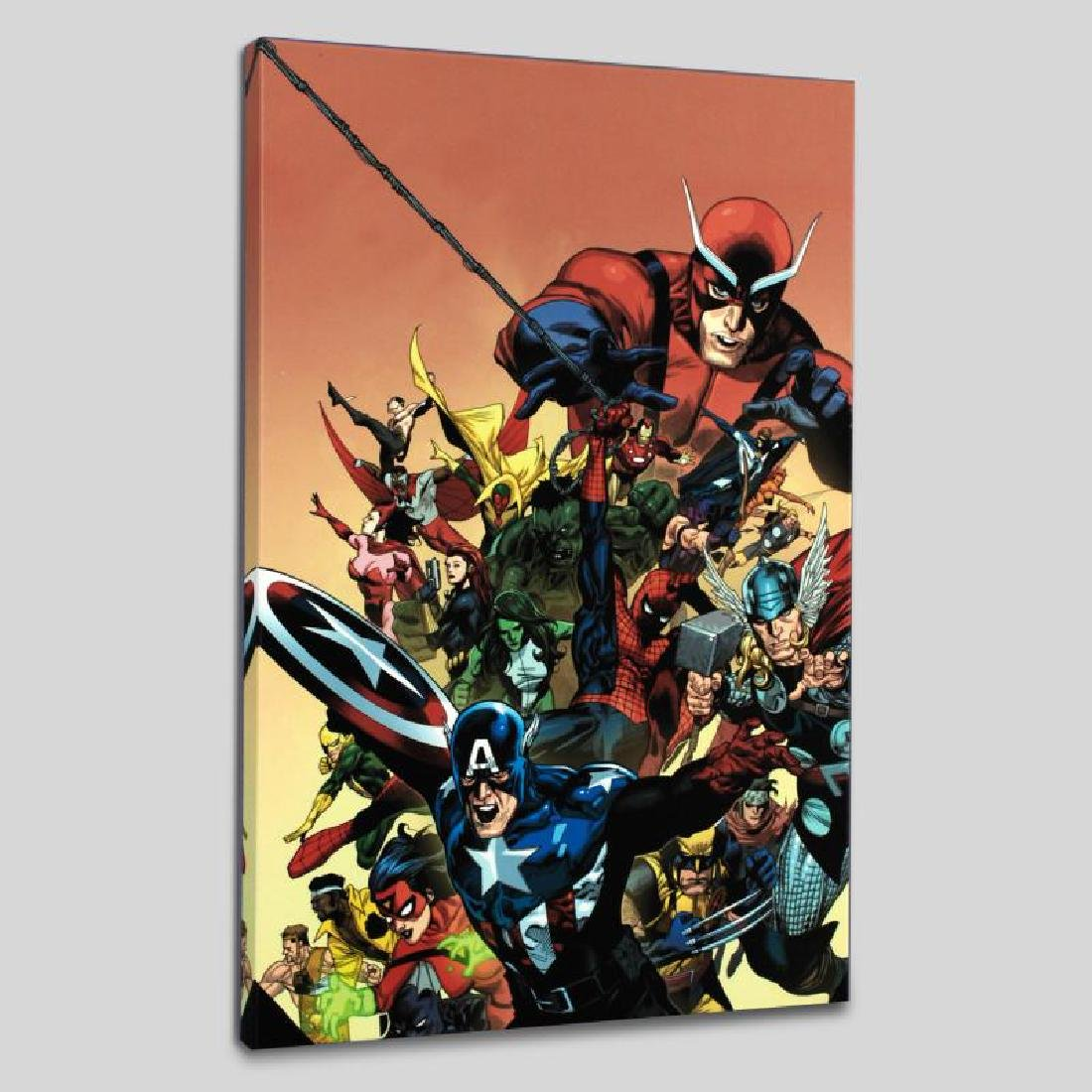 """""""I Am An Avenger #1"""" LIMITED EDITION Giclee on Canvas"""