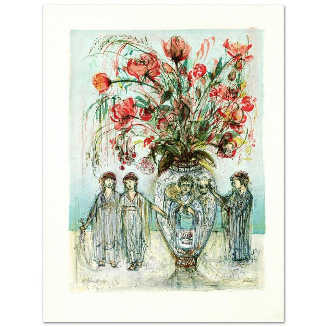 """Ancient Wisdom"" Limited Edition Lithograph by Edna"