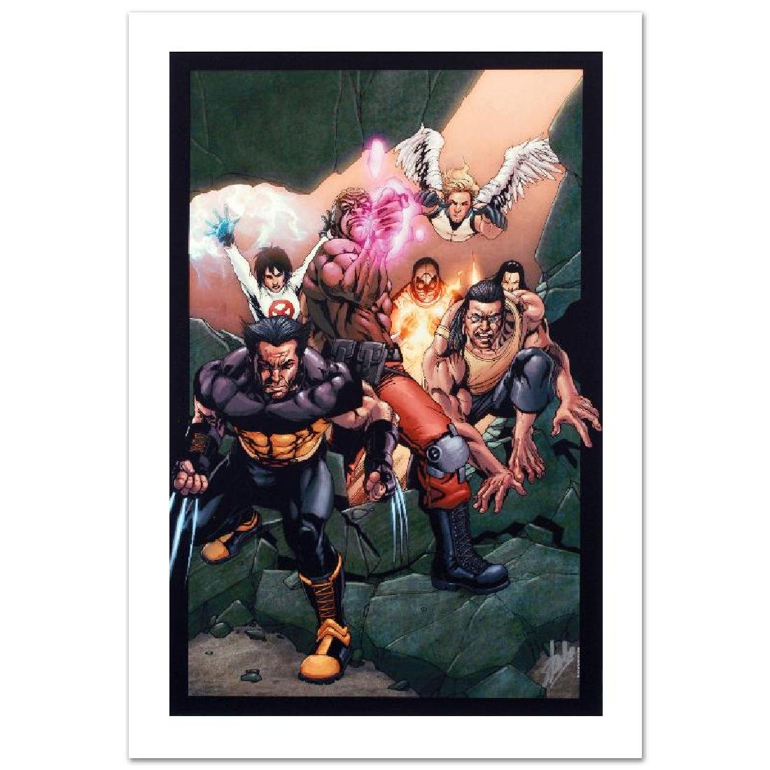 """Ultimate X-Men #89"" Limited Edition Giclee on Canvas"
