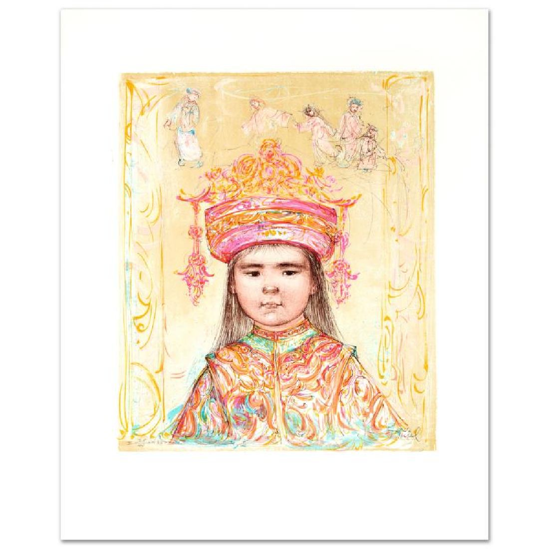 """Oriental Daydream"" Limited Edition Lithograph by Edna"