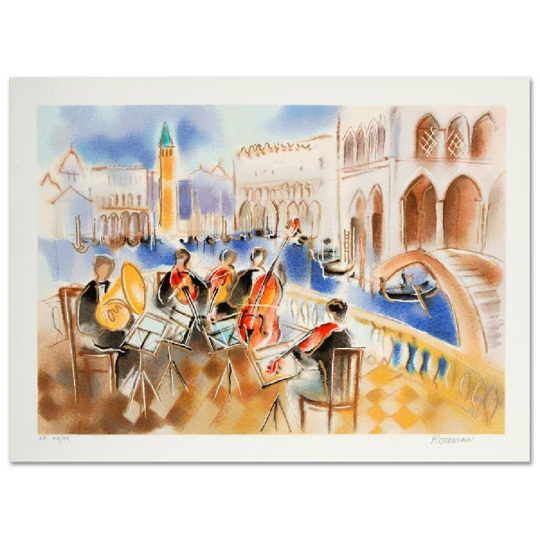 Summer Sonata Limited Edition Serigraph by Michael - 3