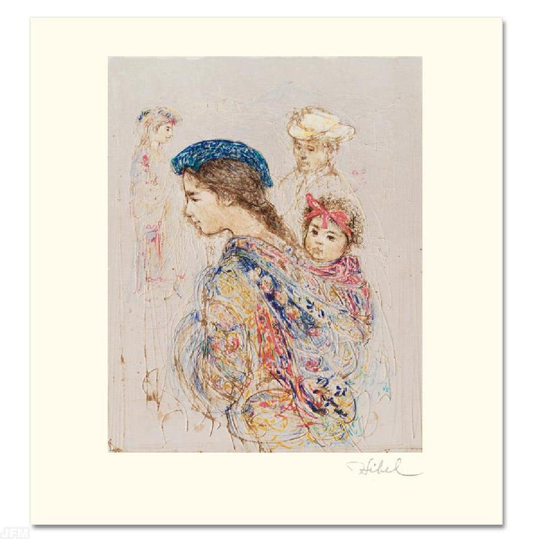 """""""Guatemalan Mother and Baby"""" Limited Edition Lithograph - 3"""