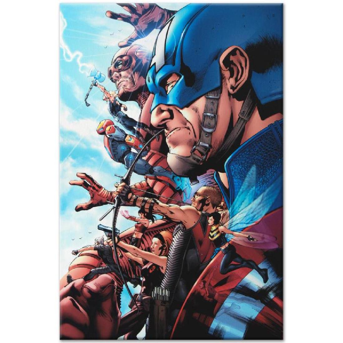 """Avengers #1"" LIMITED EDITION Giclee on Canvas by Bruce - 5"