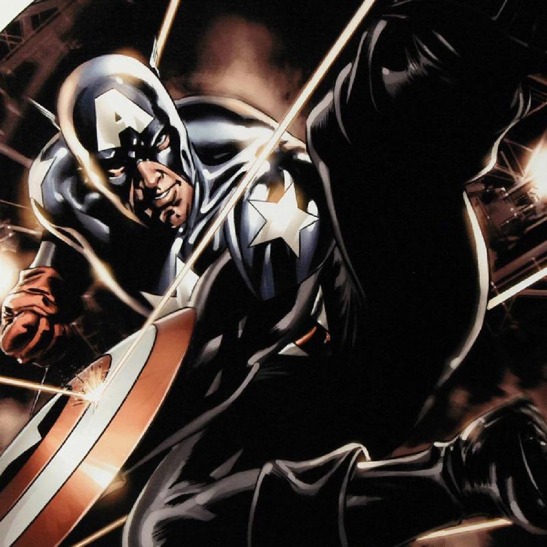 """""""Captain America #41"""" Limited Edition Giclee on Canvas - 4"""